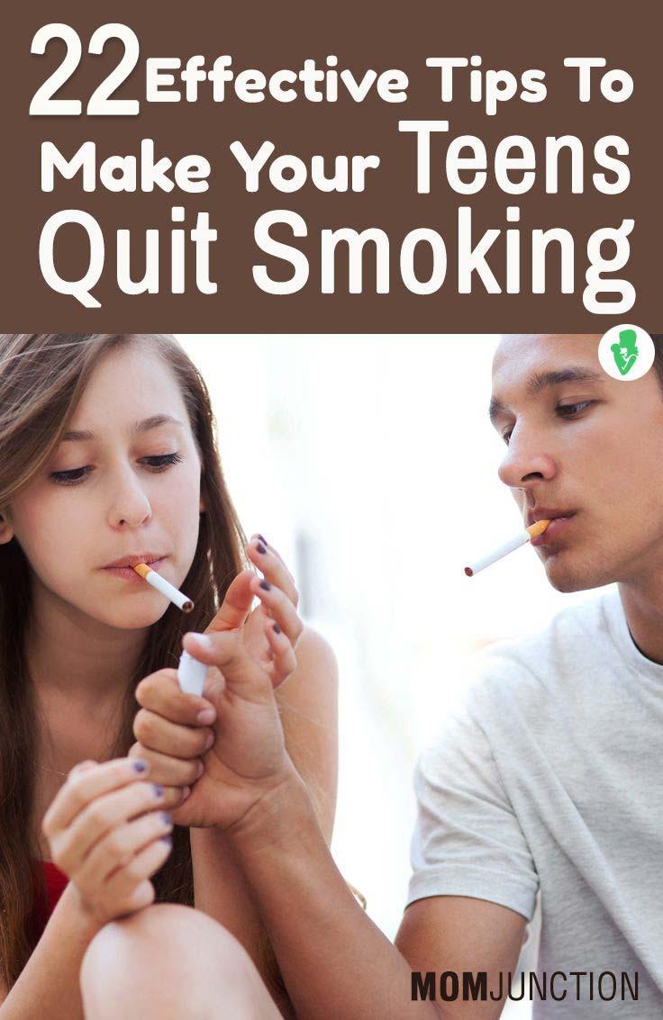 teens quit smoking