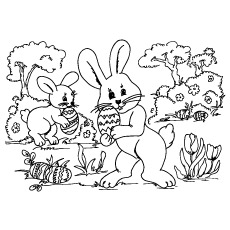 Top 25 Free Printable Easter Egg Coloring Pages Online
