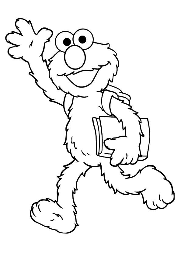 Elmo-going-to-school