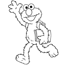 Cute Elmo Coloring Pages - Free Printables - MomJunction
