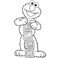 photograph about Elmo Printable known as Lovely Elmo Coloring Webpages - Free of charge Printables - MomJunction