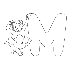 Featuring A Monkey coloring pages