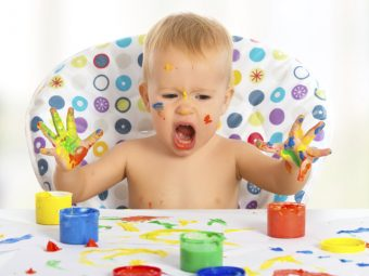 5 Edible Homemade Finger Paint For Kids
