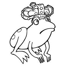 Frog-wearing-crown