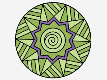 30 Interesting Geometric Coloring Pages For Your Little Learner