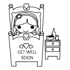 graphic about Get Well Soon Printable Cards titled Greatest 25 Free of charge Printable Receive Effectively Before long Coloring Internet pages On the web