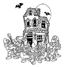 Halloween-House-music-pages-disney