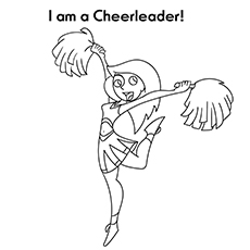 I am A Cheer Leader