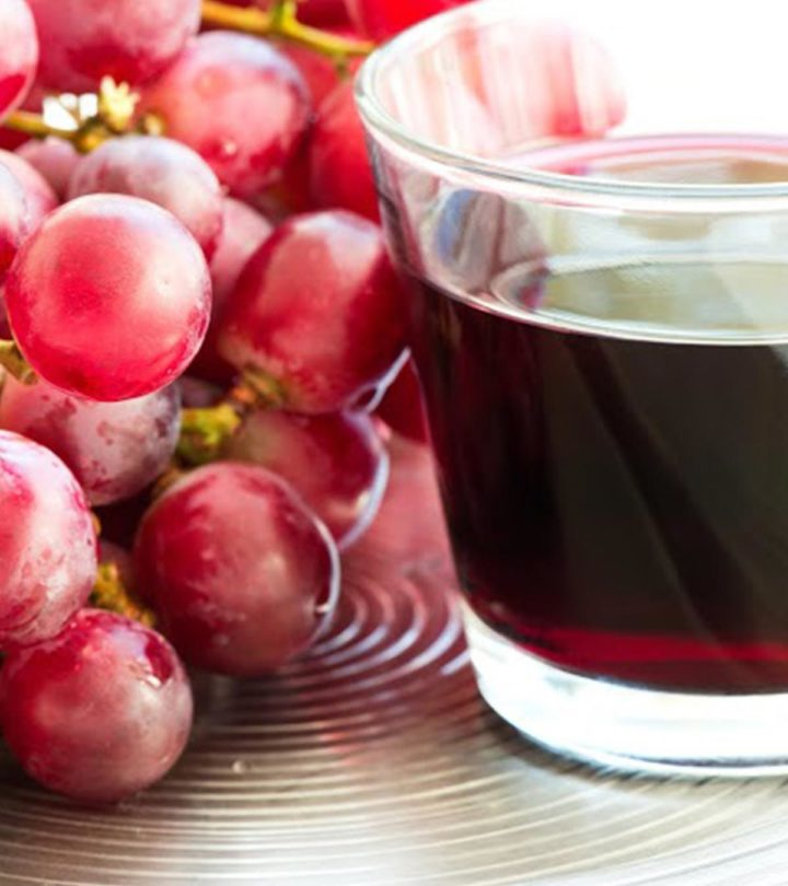 grape juice for baby