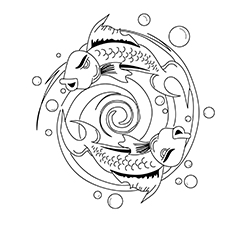 Kids-Coloring-Pages-Of-A-Koi-Fish-Tattoo-Design-16
