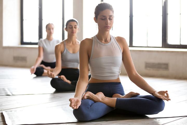 Lotus position (Padmasana)