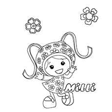 milli 17 - Umizoomi Coloring Pages Printable