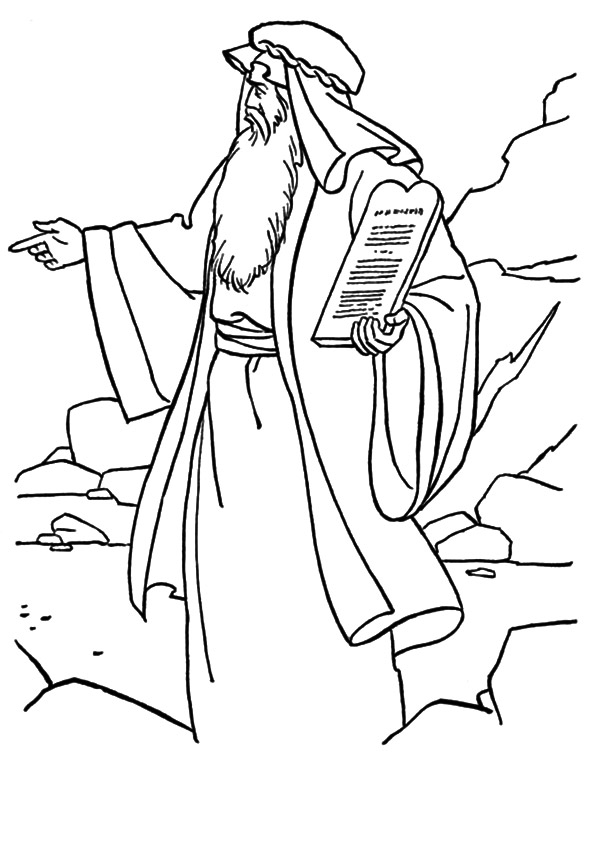 Moses-Came-Down-from-Mount-Sinai