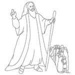 Moses-Is-Call-16 coloring images