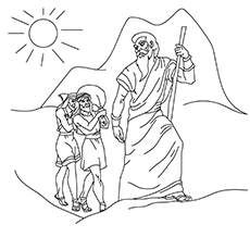 Moses-led-His-People-16 fro coloring images
