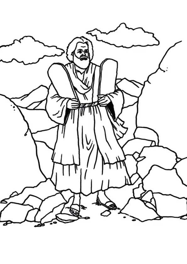 Moses-the-10-Commandments
