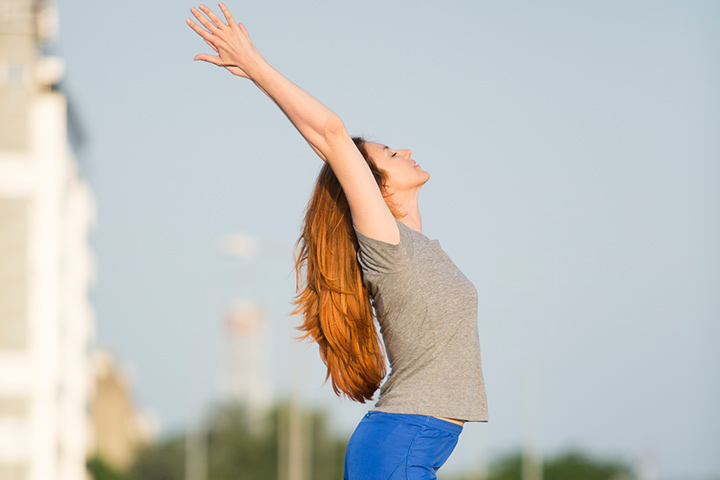 Yoga For Teenage Girls - Mountain Pose