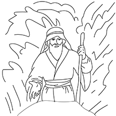Parting-The-Red-Sea-16 for coloring pages