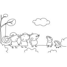 Peppa Pig Mlg Coloring Page Printable