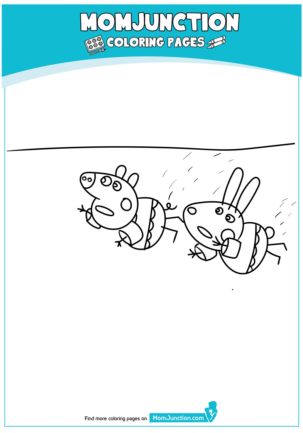 Peppa-Pig-Swimming-with-Friends