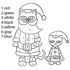 Top 20 Free Printable Pete The Cat Coloring Pages Online
