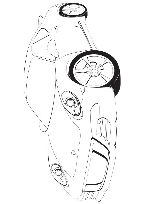Porsche-Sports-Car