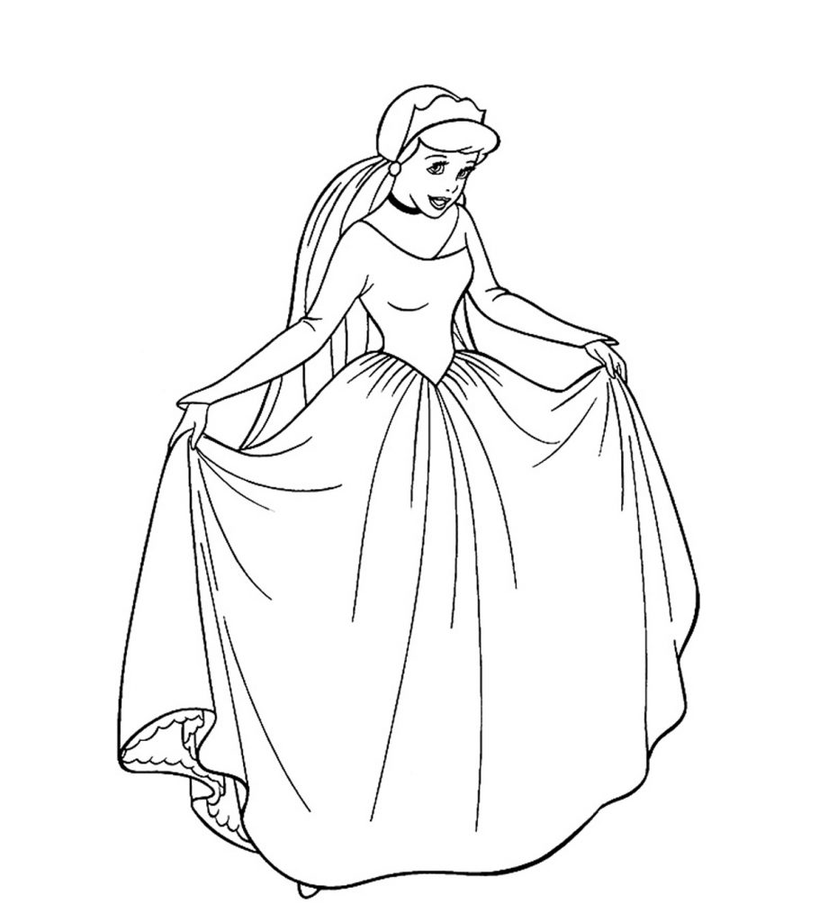 Free Disney Princess Ariel Coloring Pages, Download Free Clip Art ... | 1024x910