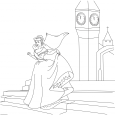 princess coloring pages for girls