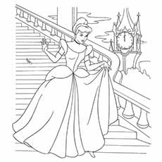 princess princesses coloring pages