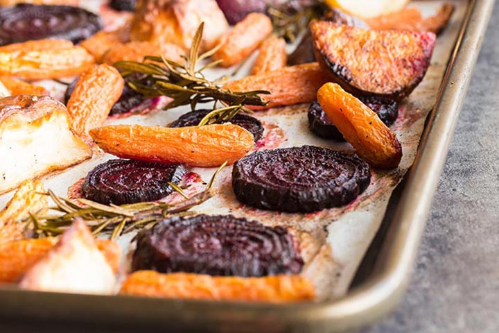 Roasted Beet Shapes