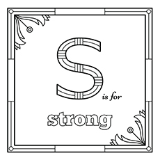 S For Strong