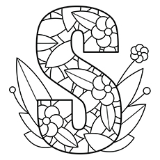 letter coloring pages free Coloring Pages Ideas