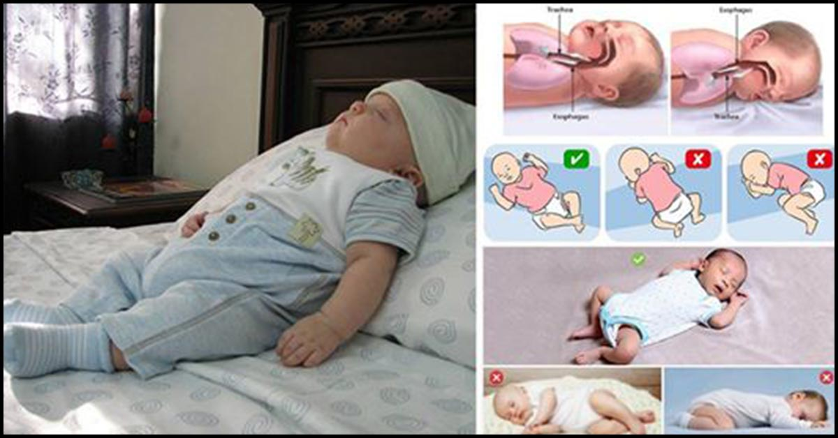Sleeping Positions For Babies What Is Safe And What Is Not
