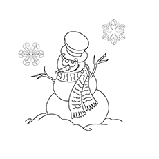 Snowman Coloring Pages Crayola