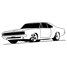 Sports Dodge Viper Car