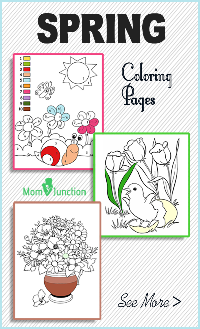 Spring coloring sheets for toddlers - Spring Coloring Sheets For Toddlers 22