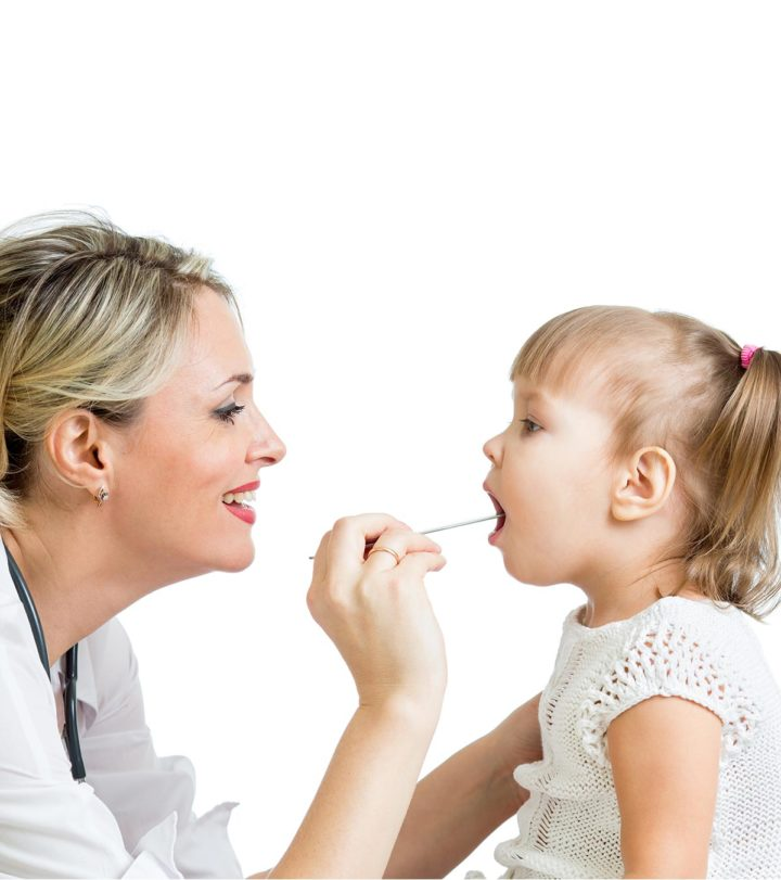 strep throat in toddlers