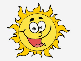 25 Interesting Sun Coloring Pages For Your Little Ones