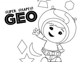 10 Best 'Team Umizoomi' Coloring Pages For Your Toddler