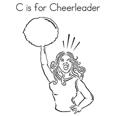 The'c'-for-cheerleader