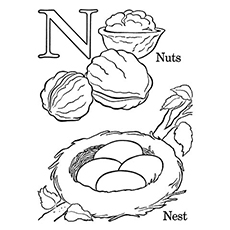 top 10 free printable letter n coloring pages online