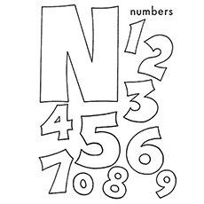 image about Letter N Printable titled Ultimate 10 No cost Printable Letter N Coloring Webpages On the web