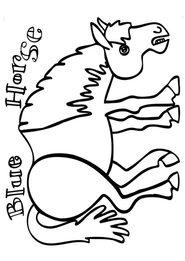 The-Blue-Horse