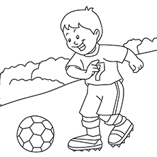 Soccer Ball Coloring Pages Free Printables MomJunction