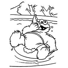 Top 25 Free Printable Cookie Monster Coloring Pages Online - Cookie-monster-coloring-pages