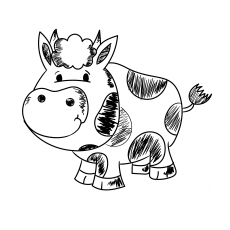 The Cow Icon