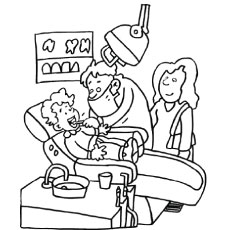 dental coloring pages Top 10 Free Printabe Dental Coloring Pages Online dental coloring pages