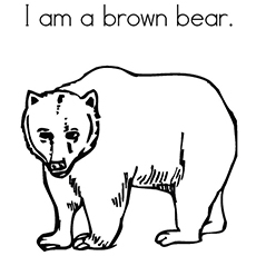 Top 10 Free Printable Brown Bear Coloring Pages Online Brown Coloring Page