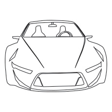 The-Lamborghini-Gallardo-Car-color-to-print