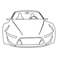 The-Lamborghini-Gallardo-Car-color-to-print